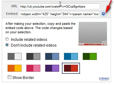 YouTube Customise