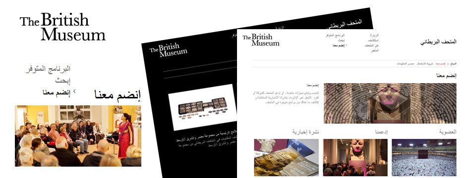 Multilingual Website Design