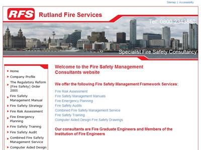 Fire safety management framework services