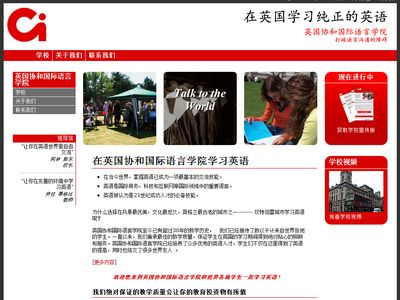 Chinese website desigbn for aircraft charter company