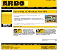 Arbo business website