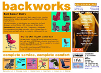 Backworks website