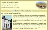 holiday cottage  website