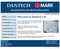 Dantech business website