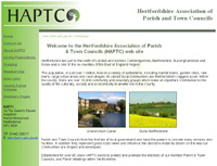 Herts Association Of Parish and Town Councils  website
