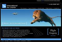 Air Charter business website