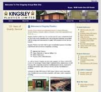 Kingsley plastics business website