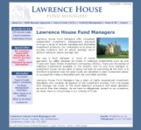 Lawrence House business website