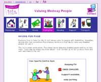 Medway Valuing People  website