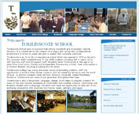 Tomlinscote secondary school  website