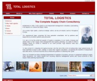 Total Logistics business website