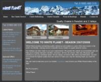 ski chalet website