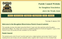 Boughton Monchelsea Parish Council  website