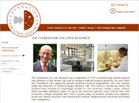 Foundation for Liver Research Website