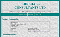 Shirehall consultants  website