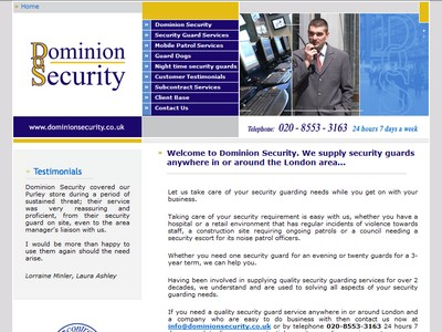 security guards London