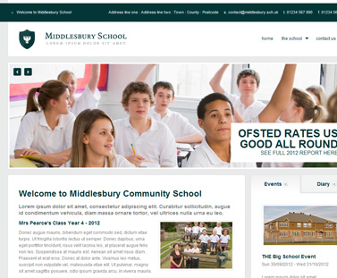 school website designs
