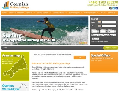 cornish holiday lettings