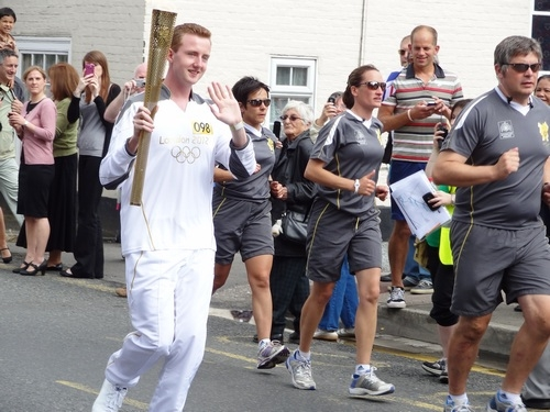 Olympic Flame Sturry