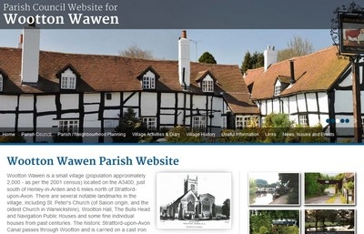 Wootton Wawen website design.jpg