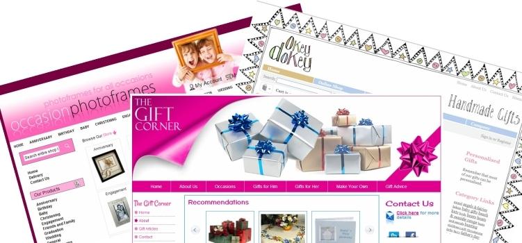 Gift shop websites cornish webservices for Top online selling websites