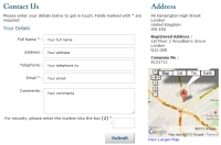Google Maps Web Design