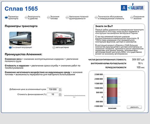 Alcoa - Russian Flash Calculator  Search Engine Marketing: Website