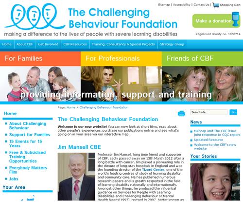 Challenging Behaviour Foundation