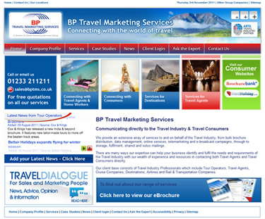 tourism websites