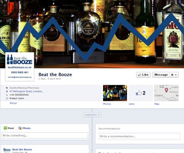 facebook custom websites UK