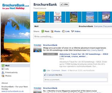 custom social media page
