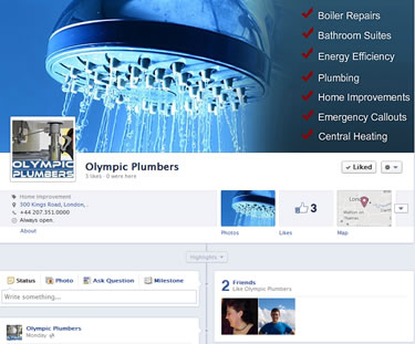facebook web designs