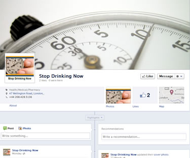 facebook website design