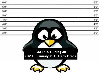 Suspected Penguin Update January 2013