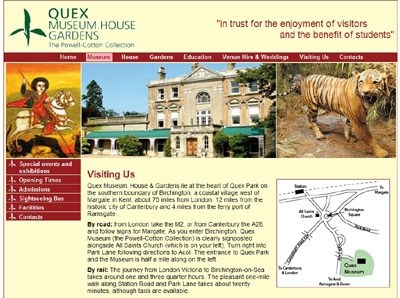 quex museum website